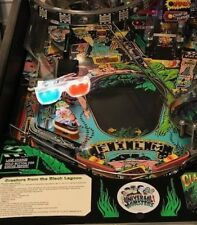 Creature From The Black Lagoon CFTBL Pinball Machine 3D Glasses LED Mod Stern