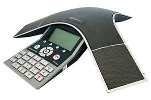 Polycom SoundStation IP7000 VoIP-PoE Konferenztelefon - refurbished