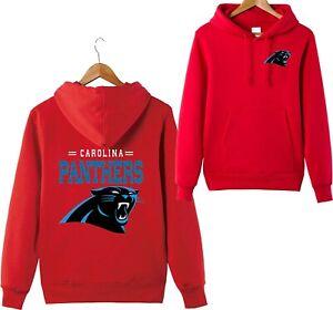 Carolina Panthers Loose Fit Lightfleece Hoodie Pullover Hooded Sweatshirt Tops