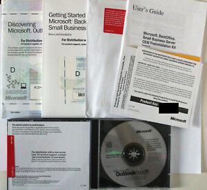 Microsoft BackOffice Small Business Server 4.5 - Englisch - NEUWARE