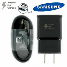 Original Samsung Galaxy Note8 S8 S9 Plus Fast OEM Wall Charger 4FT Type-C Cable