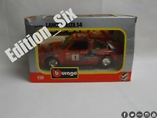 Burago 1:24 Lancia Delta S4 Red Italian Retro Classic Sports Rally car Boxed