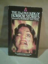 The 22nd Pan Book Of Horror Stories - Selected By Herbert Van Thal VG Condition