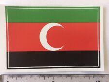 Darfur Liberation Front  flag sticker peel off vinyl (Western Sudan)