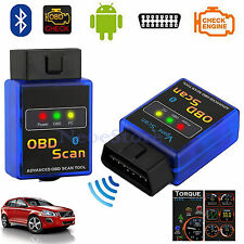 ELM327 Bluetooth OBD2 OBDII Car Diagnostic Scanner Auto Scan Tool For Android