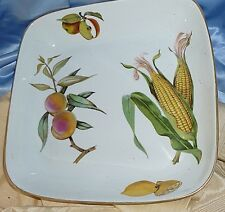 EVESHAM ROYAL WORCESTER ENGLAND BAKE -OVEN -TABLE - Serve Dish Ceramic Square  sc 1 st  eBay & Royal Worcester Evesham | eBay