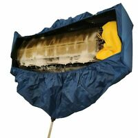 Mini Split AC Air Conditioner Cleaning Waterproof Cover Bag 1-1.5HP