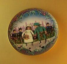 P. Buckley Moss The Young Medics #4 Fourth Art Plate Joyful Children Mib + Coa
