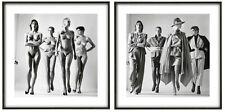 Helmut Newton, 'Sie Kommen', Nude & Clothed, Fine art prints