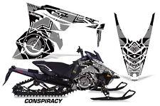 AMR Racing Yamaha Viper Graphic Kit Snowmobile Sled Wrap Decal 14-16 CONSPIRACY