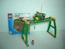 LEGO City Eisenbahn #7939 - Kran, Portalkran, Krananlage mit Bauanleitung !!!