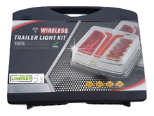 Wireless 12-24v Led Cable Free Magnetic Tractor Trailer Farm Machinery Light Set
