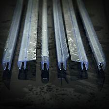 0,1m - 1,4m PVC JOINT DE DOUCHE écran bande pour 4-8mm porte de salle de bain