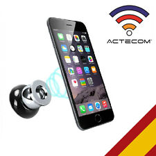 ACTECOM® SOPORTE COCHE MAGNETICO BOLA PARA IPHONE 4 4S 5 5S 5C SE 6 6S 7 PLUS