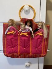 Only Hearts Club Dolls - Lot. Case, 4 Dolls, & Clothes
