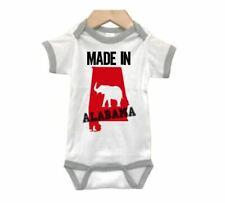 ALABAMA Baby RINGER BODYSUIT, Made In Alabama, INFANT ROMPER, KIDS Apparel