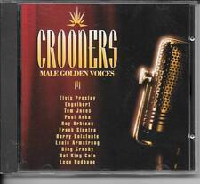 CD COMPIL 21 TITRES--CROONERS--PRESLEY/JONES/ORBISON/CROSBY/COLE/REDBONE...