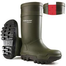 Dunlop Purofort Thermo Full Safety Wellington BOOTS UK 7 EU 41 Ln181 ZZ 02