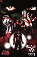 WWE #1 • JJ's COMICS & ART • FINN BALOR DEMON VARIANT • BOOM! EXCLUSIVE COMIC