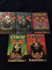 Chew Omnivore Edition Volume 1, 2, 3, 4 & 5