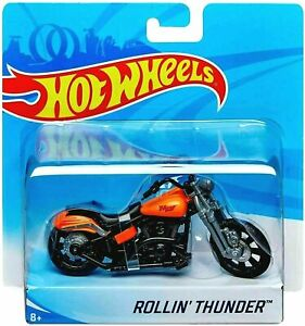 2019 Hot Wheels ROLLIN' THUNDER Street Low Rider MOTO Motorcycle Bike 1:18 X7721