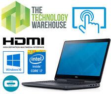 "Dell Precision Touchscreen Laptop - 15"" FHD 7510 + i7 CPU SSD & HDD Windows 10"