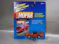 NIB JOHNNY LIGHTNING MOPAR 1970 RED PLYMOUTH SUPERBIRD 1/64 DIECAST BOX W/WEAR