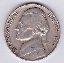 1946 Jefferson nickel in VERY FINE condition stkg5