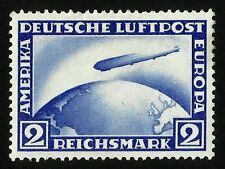 ZEPPELIN, L.Z. 127, MICHEL CAT. N°423 Y, YEAR 1928, MINT HINGED, VERY NICE PIECE