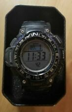 Casio SGW1000-1A, Compass, Thermometer, Altimeter, 5 Alarms, World Time USED