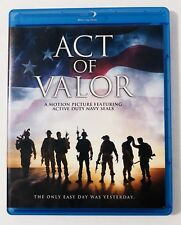Act of Valor Blu-ray - Like New Condition