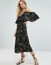 WALTER BAKER Eleanor Desert Bloom Cold Shoulder Dress Size 4 NWT $259