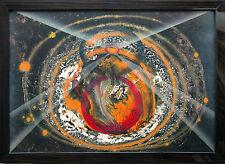Light Beam Planeten-Fusion Lichtkegel  1996  Ausstellungsbild, Jozsef Toth *1944