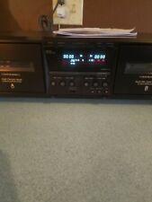 Vintage sony cassette deck Tc-We475 nice!