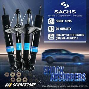 Front + Rear Sachs Shock Absorbers for Nissan Micra K12 1.4L Hatchback 07-10