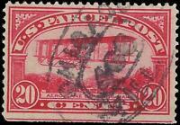 VEGAS - 1913 Sc# Q8 - Parcel Post 20c Used - Decent Centering! - EX19