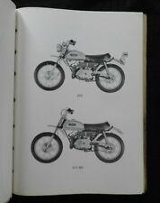 "1971 1972 YAMAHA ""60cc JT2 JT2-MX ENDURO DIRT"" MOTORCYCLE PARTS CATALOG MANUAL"