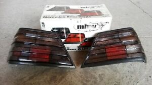 Mercedes W124 230 260 300D 24 500E 400E AMG Brabus FIFFT Smoked Euro Tail Lights