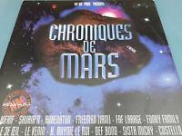 Rare French Hip Hop Rap - 3x LP  - CHRONIQUES DE MARS - Various artist