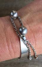 Vintage 1970s Solid Sterling Silver Bracelet. Kupittaan Kulta. FINLAND