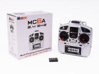 Microzone MC6A 6 Channel Radio Control Quad Plane RC Transmitter Combo New Boxed