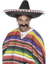 MEXICAN SOMBRERO STRAW HAT, MEXICO, UNISEX