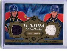 2008-09 Artifacts Tundra Tandems #TT-WH Weiss/Horton Dual Jersey jh11