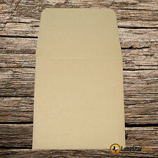 100 2x2 Tan Kraft Paper Coin Envelopes - Acid and Sulpher Free Safe for Coins