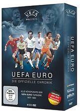 UEFA EURO - Die offizielle Chronik [4x DVD] *NEU* Alle EMs Europameisterschaften