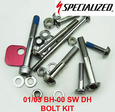 - New - Specialized FSR XC /S-WORKS/Big Hit Bolt Kit 9893-5130