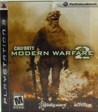 Call of Duty: Modern Warfare 2 COD MW2 Sony PlayStation 3 2009 PS3 Complete