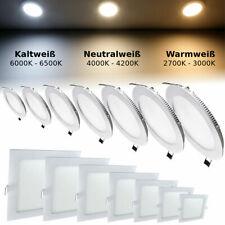LED Panel Flach Einbaustrahler Deckenleuchte Einbaupanel Deckenstrahler Lampe