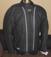 YAMAHA STAR MOTOCYCLE FAUX LEATHER (HEAVY) JACKET MEN'S SIZE 3XL..NEW WITH TAGS!