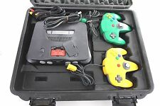 Pelican Case Custom For Nintendo 64, Comes With N64 Console W/ 2 Controller OEM